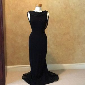 Stunning Long Black Gown